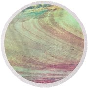 Marble Background Round Beach Towel