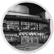 Marcus Center For The Performing Arts Round Beach Towel