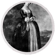 Margaret Woffington (c1714-1760) Round Beach Towel