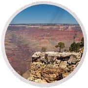 Maricopa Point Grand Canyon National Park Round Beach Towel