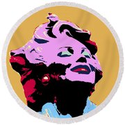 Marilyn Two Round Beach Towel