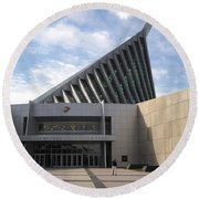 National Museum Of The Marine Corps In Triangle Virginia Round Beach Towel