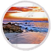 Marineland Sunrise Round Beach Towel