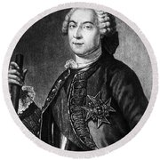 Marquis De Vaudreuil (1698-1778) Round Beach Towel