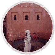 Marrakesh Life Round Beach Towel
