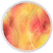 Marriage In Heaven Round Beach Towel