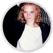 Martha Plimpton 1988 Round Beach Towel
