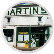 Martin's Round Beach Towel