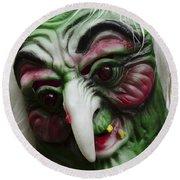 Masks Fright Night 5 Round Beach Towel