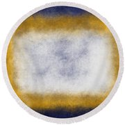 Massanutten Vii Round Beach Towel
