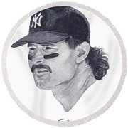 Mattingly Round Beach Towel