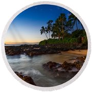 Maui Cove - Beautiful And Secluded Secret Beach. Round Beach Towel