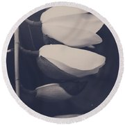 Maybe Someday You'll See Round Beach Towel by Laurie Search