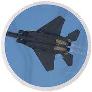 Mcdonnell Douglas F 15e Strike Eagle 2 Round Beach Towel