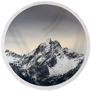Mcgown Peak Beauty America Round Beach Towel