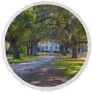 Mcleod Plantation Round Beach Towel