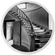 Meade Staircase Round Beach Towel