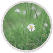 Meadows Of Heaven Round Beach Towel