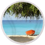 Meads Memories Round Beach Towel