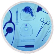 Medical Equipment Round Beach Towel