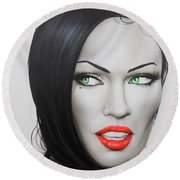 Megan Round Beach Towel