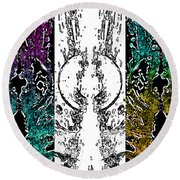 Melt 3rd Round Beach Towel