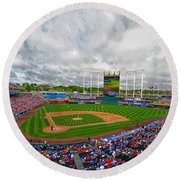Memorial Day At The K Round Beach Towel