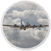 Memphis Belle - Homecoming Round Beach Towel