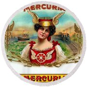 Mercuria Round Beach Towel