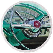 Mercury Montclair Round Beach Towel