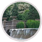 Meridian Hill Round Beach Towel