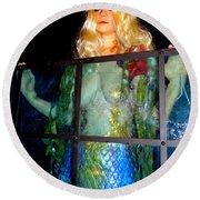 Mermaid Vision Round Beach Towel
