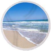 Merritt Island Nwr, Florida Round Beach Towel