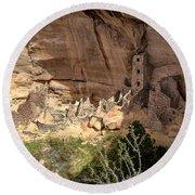 Mesa Verde National Park 1 Round Beach Towel