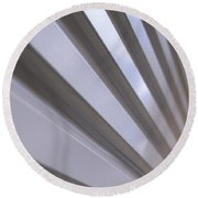 Metal Perspective Texture Round Beach Towel
