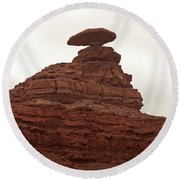 Mexican Hat Round Beach Towel