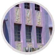 Miami Beach - Art Deco 12 Round Beach Towel