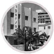 Miami Beach - Art Deco 24 Round Beach Towel