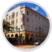 Miami Beach - Art Deco 36 Round Beach Towel