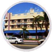 Miami Beach - Art Deco 38 Round Beach Towel