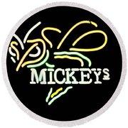 Mickeys Round Beach Towel