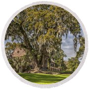 Historic Middleton Place  Round Beach Towel