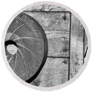 Mill Stone Round Beach Towel