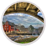 Millmore Mill2 Round Beach Towel