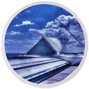 Milwaukee Art Museum 1 Round Beach Towel
