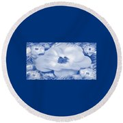 Mingles Round Beach Towel