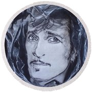 Willy Deville - Coup De Grace Round Beach Towel