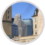 Minneapolis Round Beach Towel
