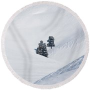 Minus 40 Round Beach Towel