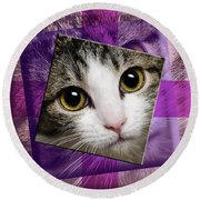 Miss Tilly The Gift 4 Round Beach Towel